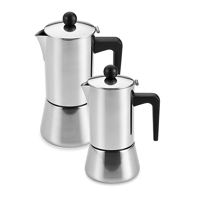 Alternate image 1 for BonJour® Stovetop Stainless Steel Espresso Makers