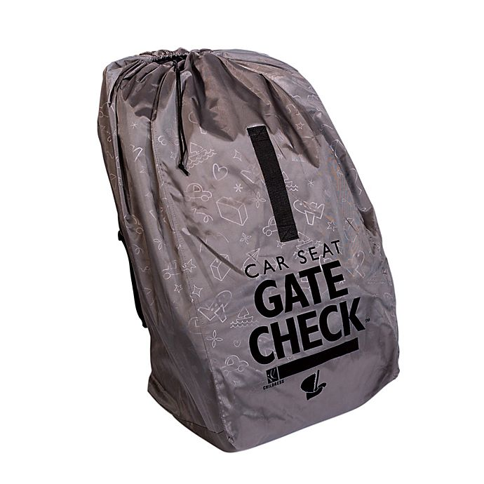 Alternate image 1 for J.L. Childress Deluxe Gate Check Travel Bag for Car Seats in Grey