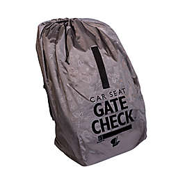 J.L. Childress Deluxe Gate Check Travel Bag for Car Seats in Grey