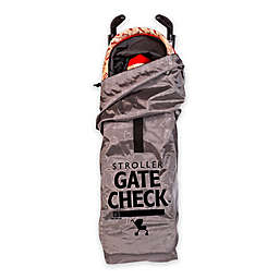 J.L. Childress Deluxe Gate Check Travel Bag for Umbrella Strollers in Grey