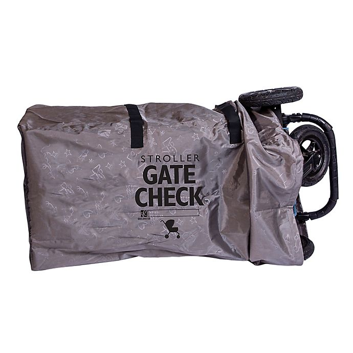 Alternate image 1 for J.l. Childress Deluxe Gate Check Bag in Grey for Single/Double Strollers
