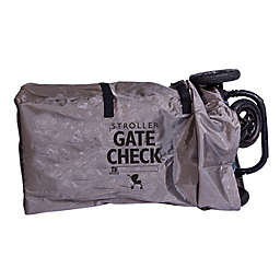 J.l. Childress Deluxe Gate Check Bag in Grey for Single/Double Strollers