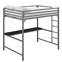 EveryRoom Mason Metal Loft Bed