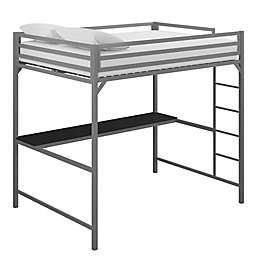 EveryRoom Mason Metal Loft Bed