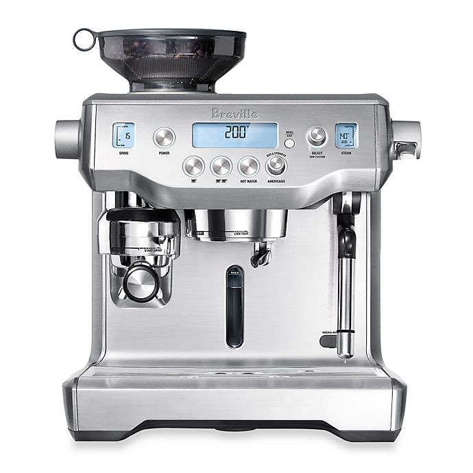 Alternate image 1 for Breville® The Oracle™ BES980XL Espresso Machine