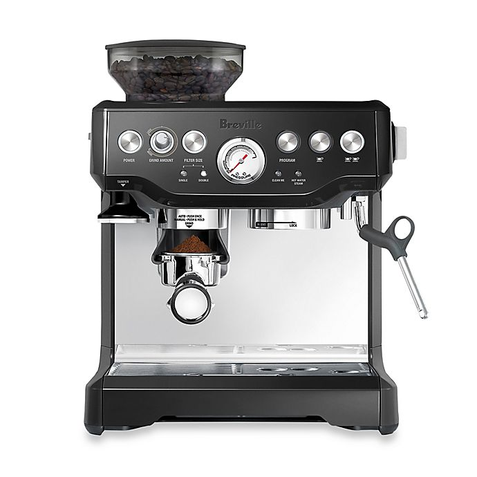 Alternate image 1 for Breville® The Barista Express™ BES870BSXL Espresso Machine in Black Sesame