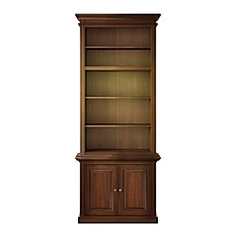 NovaSolo Toscana 5-Shelf Bookcase in Brown