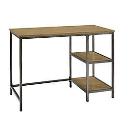Crosley Furniture Brooke Desk in Washed Oak