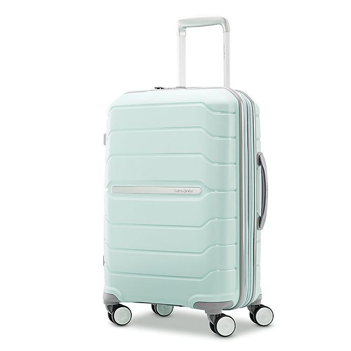 Alternate image 1 for Samsonite® Freeform 21-Inch Hardside Spinner Carry On Luggage in Mint Green