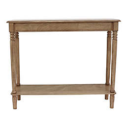 Decor Therapy Simplify Console Table in Sahara
