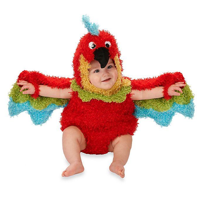 Alternate image 1 for Just Pretend® Parrot Infant Romper