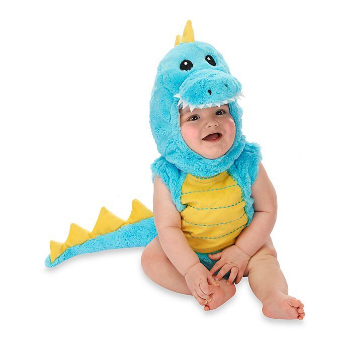Alternate image 1 for Just Pretend® Dino Infant Romper