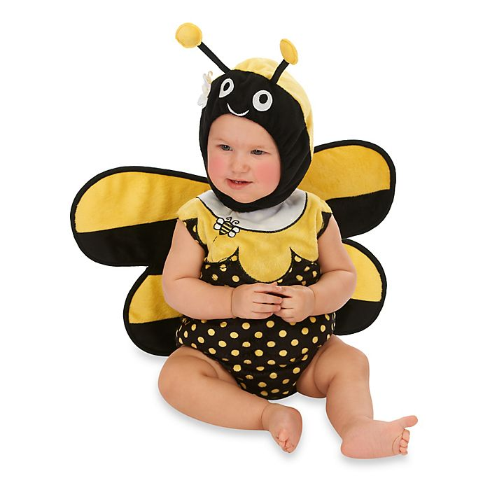 Alternate image 1 for Just Pretend® Bumblebee Infant Romper