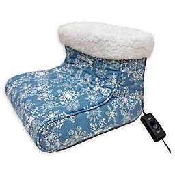 Micro Flannel® Heated Foot Warmer in Snow Flurries