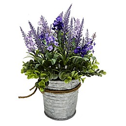 Bee & Willow™ Home Lavender in Galvanized Bucket