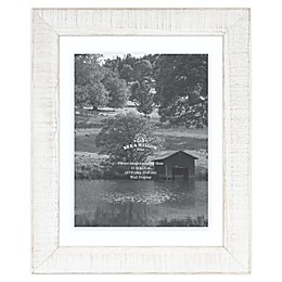 Bee & Willow™ Home 11-Inch x 14-Inch Floating Picture Frame in White