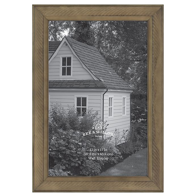 Alternate image 1 for Bee & Willow™ Home 11-Inch x 17-Inch Wooden Picture Frame in Chocolate