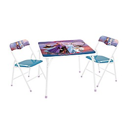 Frozen 2 3-Piece Activity Table and Chair Set