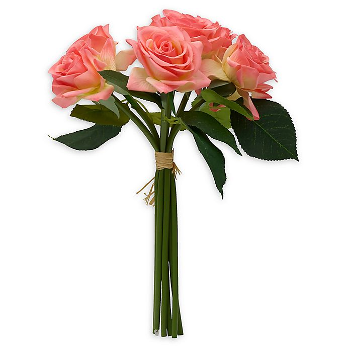 Alternate image 1 for Elements 12-Inch Artificial Rose Bouquet