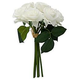 Elements 12-Inch Artificial Rose Bouquet