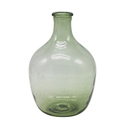 Bee & Willow™ Home Glass Bulb Vase in Green