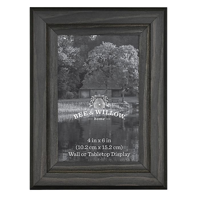 Alternate image 1 for Bee & Willow™ Home 4-Inch x 6-Inch Wooden Picture Frame in New Oxford Black