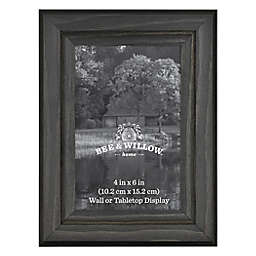 Bee & Willow™ Home 4-Inch x 6-Inch Wooden Picture Frame in New Oxford Black