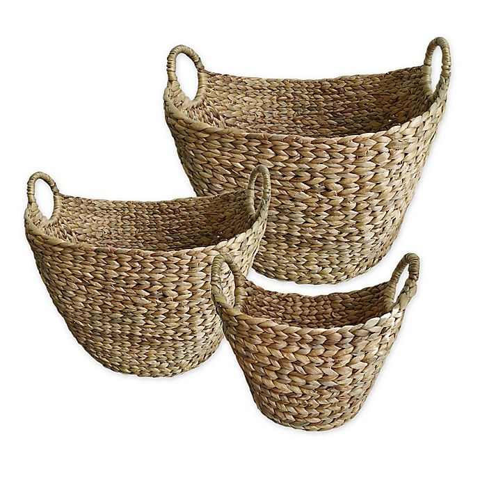 Alternate image 1 for Bee & Willow™ Home Water Hyacinth Basket