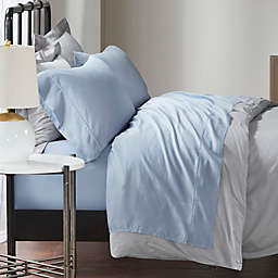 Madison Park 1500-Thread-Count Cotton Rich California King Sheet Set in Blue (Set of 4)