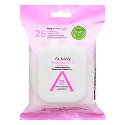 Almay® 25-Count Biodegradable Micellar Makeup Remover Cleansing Towelettes™
