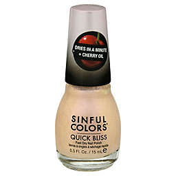 Sinful Colors® 0.5 fl. oz. Quick Bliss Fast Dry Nail Polish in Ice Ice Cherry 2671