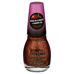 Sinful Colors® 0.5 fl. oz. Quick Bliss Fast Dry Nail Polish in Flushed 2674