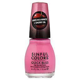 Sinful Colors® 0.5 fl. oz. Quick Bliss Fast Dry Nail Polish in Climaxxx 2675