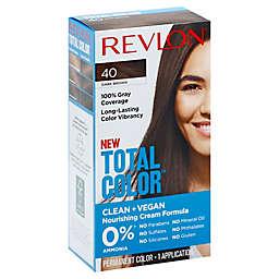Revlon Total Color™ Dark Brown Permanent Hair Color Kit