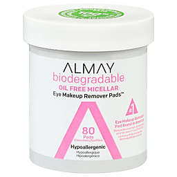 Almay® 80-Count Biodegradable Oil Free Micellar Eye Makeup Remover Pads™