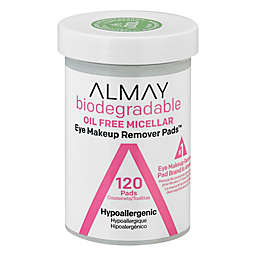 Almay® 120-Count Biodegradable Oil Free Micellar Eye Makeup Remover Pads™