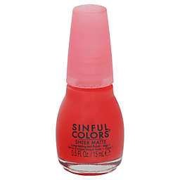 SinfulColors® Sheer Matte Nail Polish in Ruby Tutu