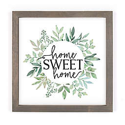 P. Graham Dunn Home Sweet Home Framed Wood Wall Art