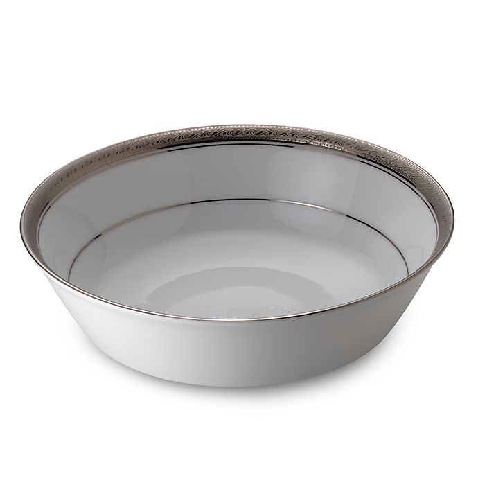 Alternate image 1 for Noritake® Crestwood Platinum Round Vegetable Bowl