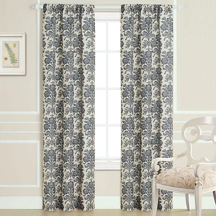 Laura Ashley Lifestyles 2 Pack Tatoon Sheer Window Curtains: Laura Ashley® Tatoon Window Panel Pair