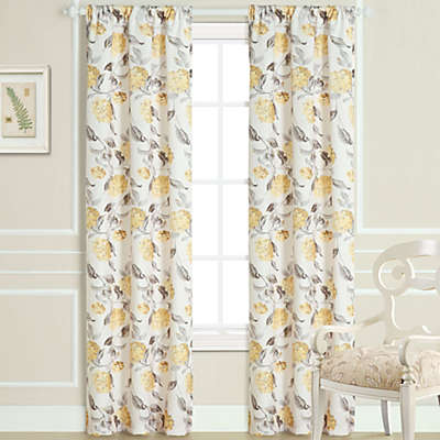 Laura Ashley® Hydrangea Window Curtain Panel Pair
