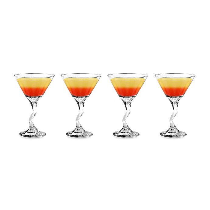 Alternate image 1 for Libbey® Z-Stem 9-Ounce Martini Cocktail Glasses (Set of 4)