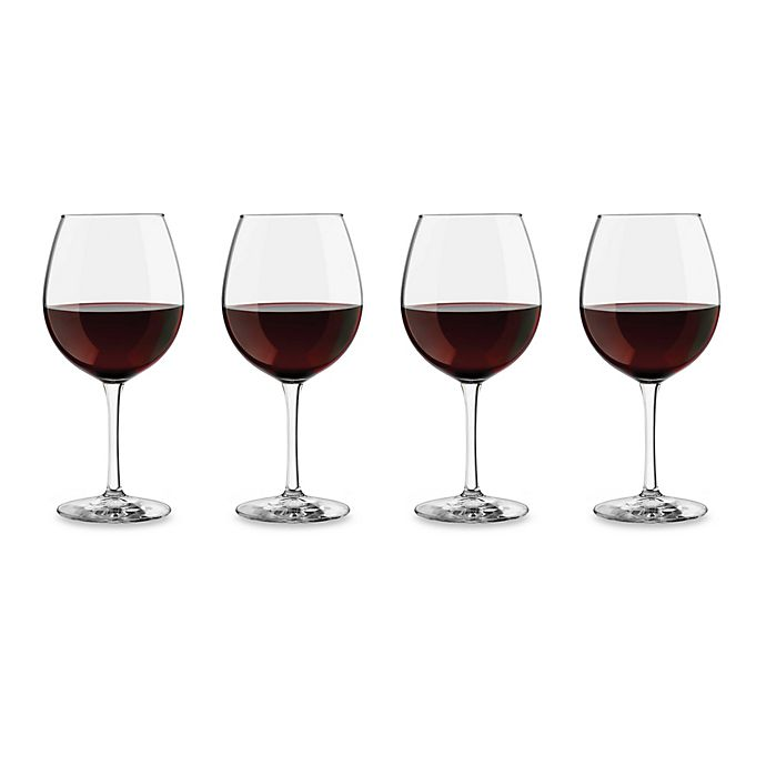 Alternate image 1 for Dailyware™ Red Wine Glasses (Set of 4)