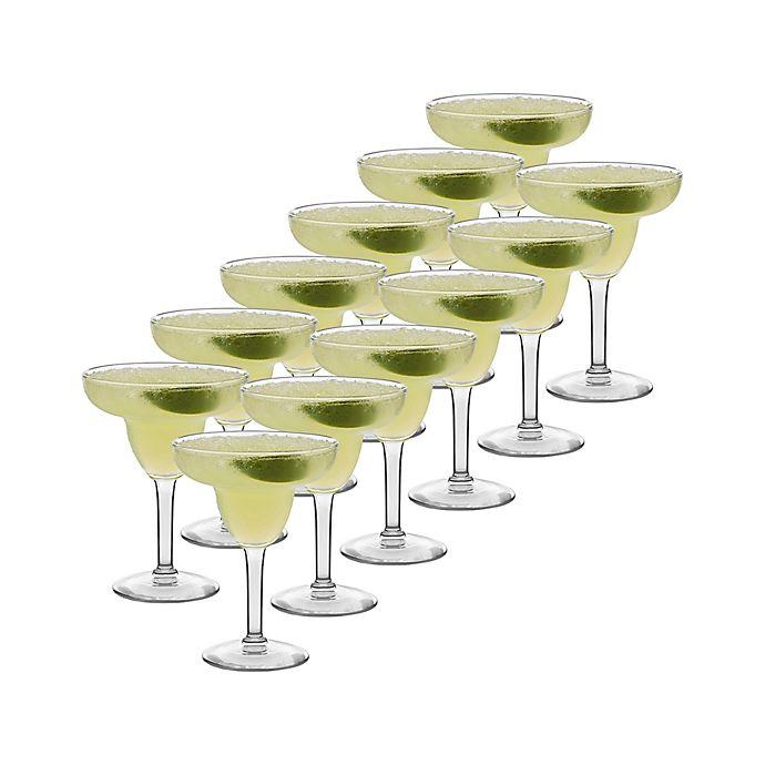 Alternate image 1 for Libbey® Glass Margarita Glasses (Set of 12)