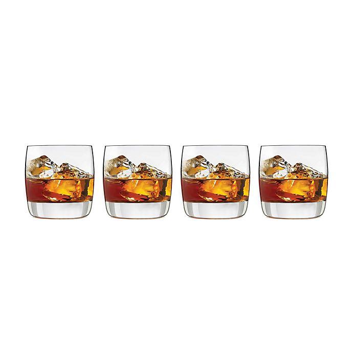Alternate image 1 for Libbey® Glass Signature Kentfield Rocks Glasses (Set of 4)