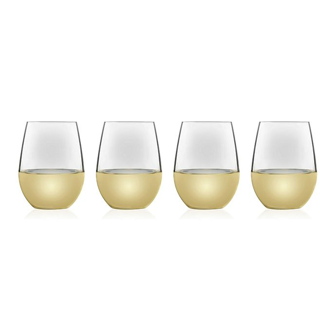Alternate image 1 for Libbey® Signature All-Purpose Stemless Wine Glasses (Set of 4)