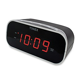 Timex® Alarm Clock with 0.7-Inch Red Display