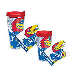 Tervis® University of Kansas Jayhawks Wrap Tumblers with Red Lid