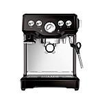 Breville® Infuser™ BES840BSXL Espresso Machine in Black Sesame