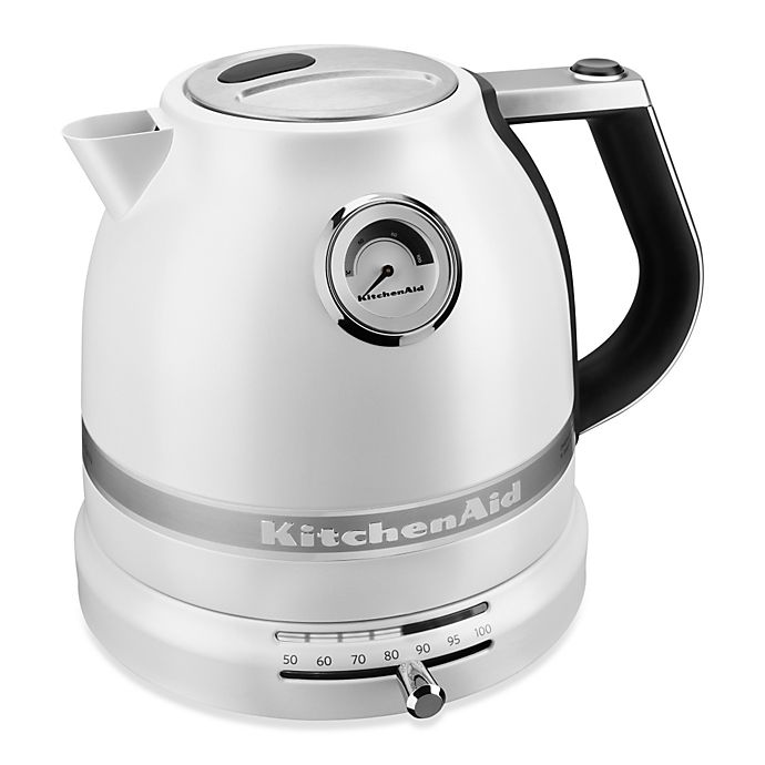 Alternate image 1 for KitchenAid® Pro Line™ 1.5 Liter Electric Kettle in Pearl White